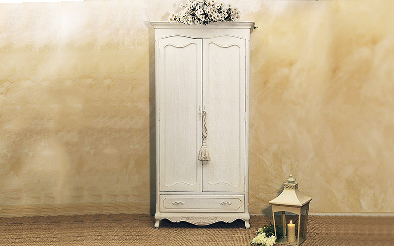 Armadio shabby chic guardaroba outlet del mobile - Mobile ingresso shabby ...