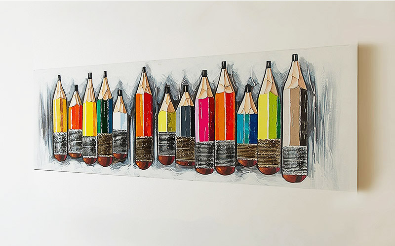 Quadro su tela matite outlet del mobile - Ikea quadri su tela ...