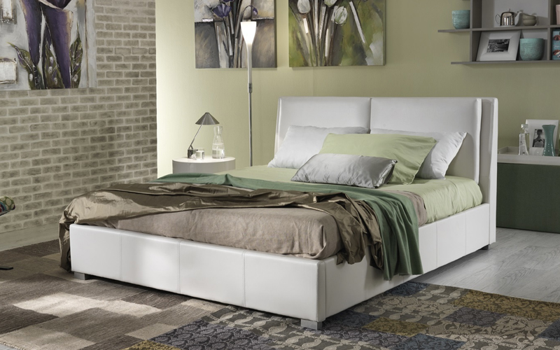 Letto moderno ginevra outlet del mobile - Outlet del mobile salerno zona industriale ...