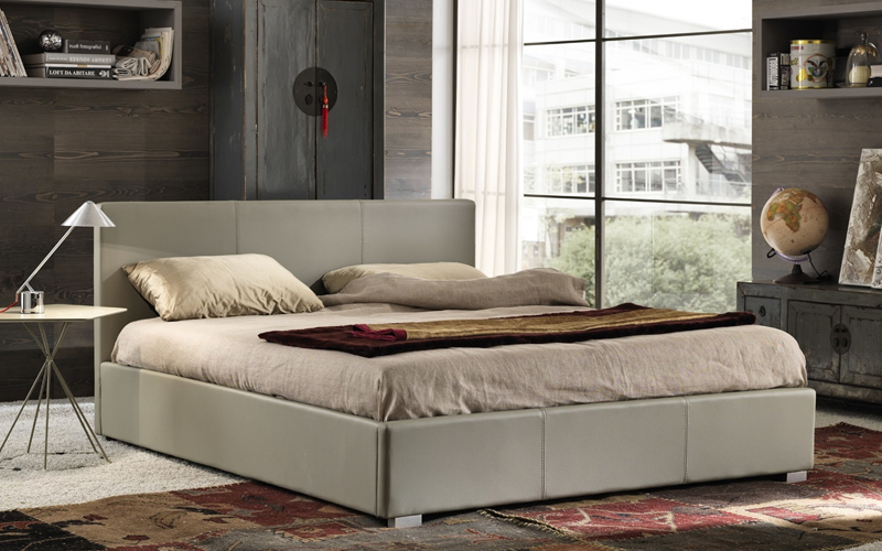 Letto moderno francesca outlet del mobile - Outlet del mobile salerno zona industriale ...