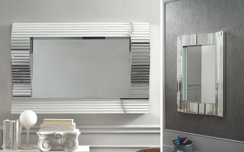 Specchio da parete ondulato outlet del mobile - Specchio rettangolare da parete ...