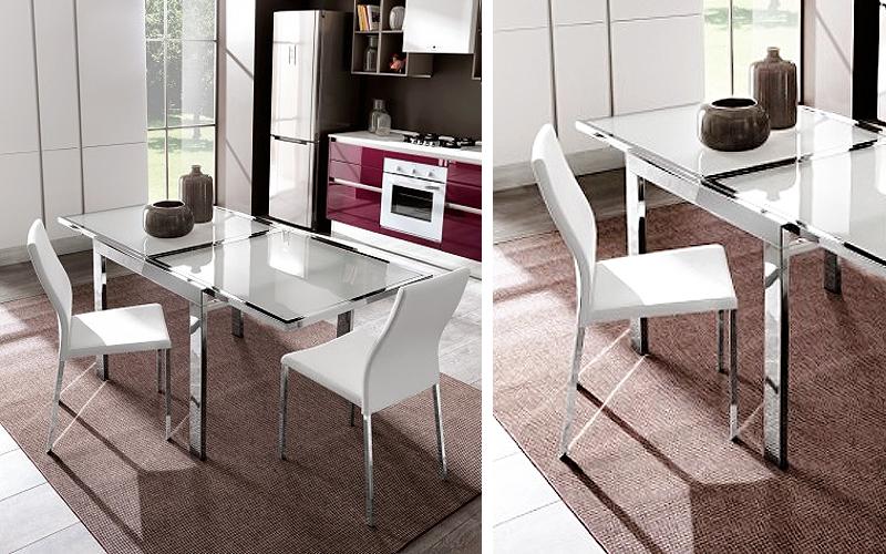 Una soluzione brillante per i tuoi pranzi un tavolo allungabile a