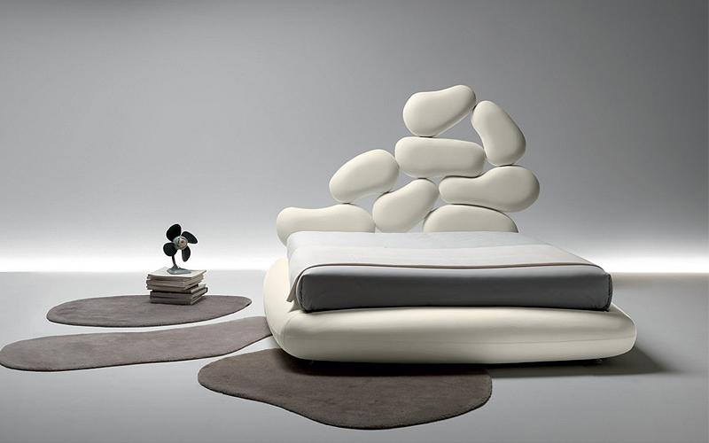 Letto Matrimoniale Design Outlet.Letto Matrimoniale Stones Box Outlet Del Mobile