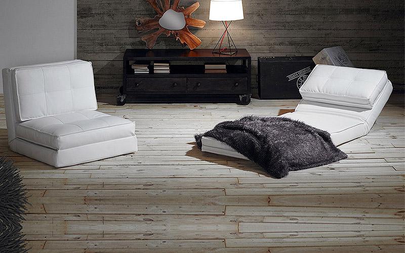Poltrona letto in ecopelle zip outlet del mobile - Poltrona letto comoda ...