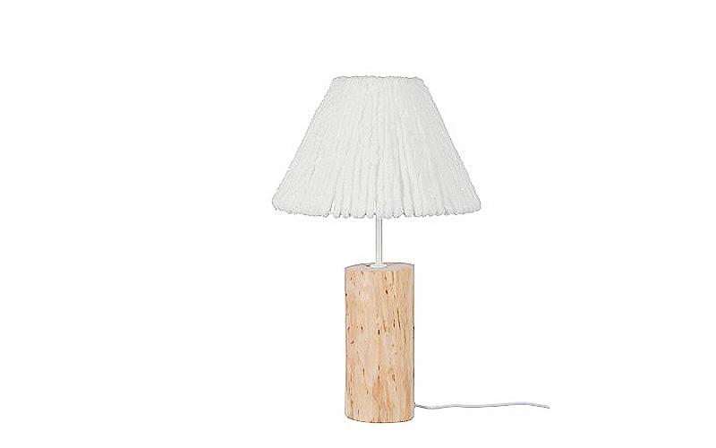 Lampada Da Tavolo In Legno Naturale Tronco S Illuminazione Online