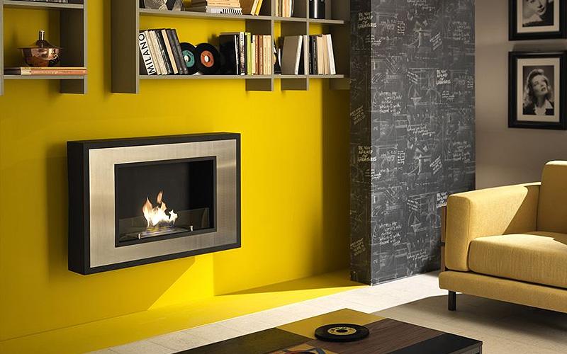 caminetti a bioetanolo da parete: Hot Fram