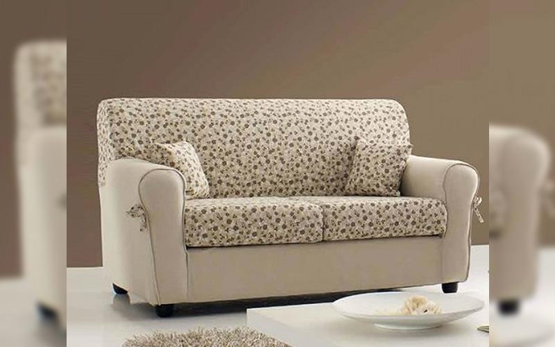 Coppia di divani in tessuto 3+2 posti \