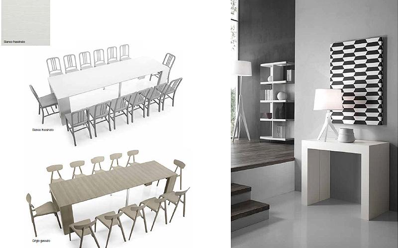 Emejing tavolo consolle allungabile images for Ikea tavolo consolle allungabile