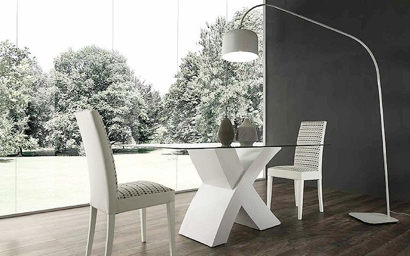 tavolo-moderno-piano-in-vetro-raul - Outlet del mobile