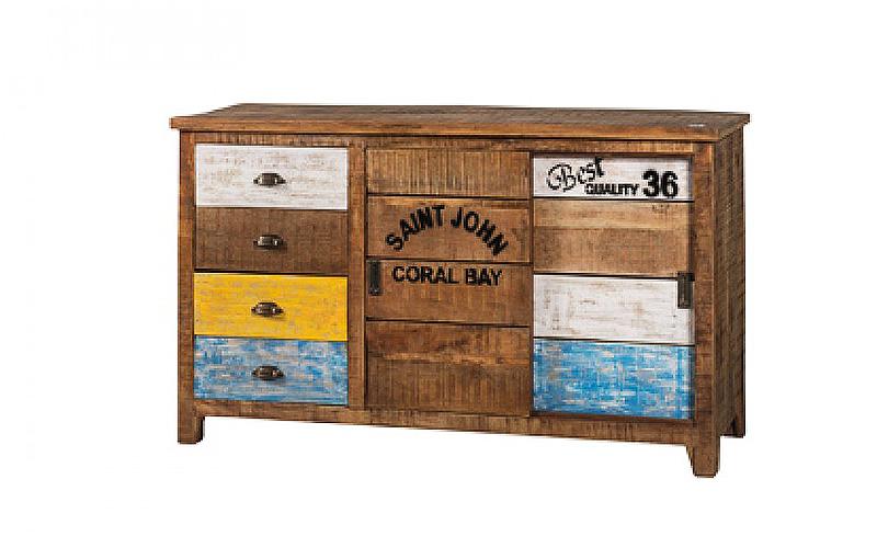 """Credenza """"Coral Bay"""" in legno di mango"""