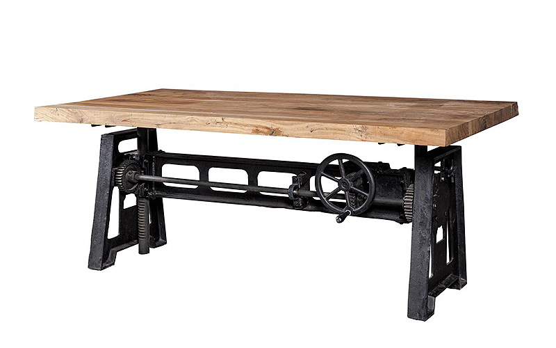 Tavolo stile industrial Blacksmith