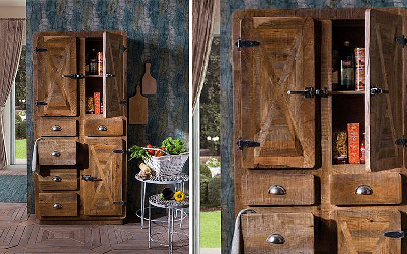 "Dispensa stile industrial ""Refrigerateur"""